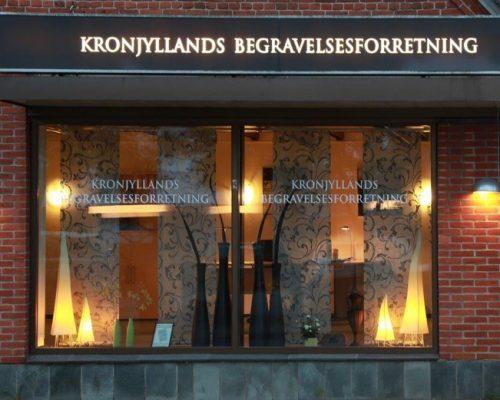 kronjyllands begravelsesforretning bjerringbro