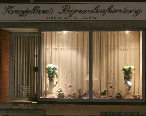 kronjyllands begravelsesforretning havndal